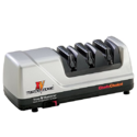 Chef'sChoice 15 XV Trizor Professional Electric Knife Sharpener 3.12 Carat 100-percent Diamond Abrasives Stropping Stage Precision Guides Platinum $99.99,free shipping