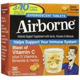 Airborne 泡腾片防感冒增免疫草本精华30片香橙口味