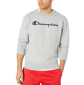 Champion Men's Graphic Powerblend Fleece Crew $27.30,free shipping