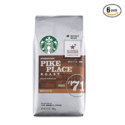 Starbucks Pike Place 咖啡豆6包 ,现点击Coupon