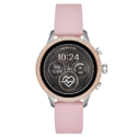 Michael Kors Access Womens Runway Touchscreen Smartwatch Stainless Steel Leather watch, Pink, MKT5055 $198.50,free shipping