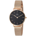 Daniel Wellington Classic Petite Melrose in Black 28mm $141.29,free shipping