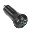 Car Charger Quick Charge 3.0 RAVPower 40W 3A Car Adapter with Dual QC USB Ports for iPhone X / 8 / 8 Plus, iPad Pro 2017, Google Pixel, Sumsung Galaxy Note 8 / S9 / S8 / S8 Plus / S7 and More $11.99