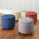 Walmart: Better Homes & Gardens Colette Tufted Storage Ottoman