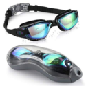 Aegend Swim Goggles, Swimming Goggles No Leaking Anti Fog UV Protection Triathlon Swim Goggles with Free Protection Case for Adult Men Women Youth Kids Child $12.99