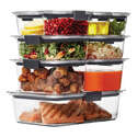 Walmart: Rubbermaid Brilliance Food Storage Container Set, 18-piece, Clear