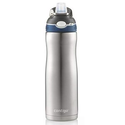 Amazon: Contigo AUTOSPOUT Straw Ashland Chill Stainless Steel Water Bottle, 20oz, Scuba