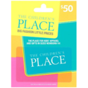 $50.00 The Children's Place Gift Card $40