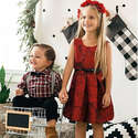 Children's Place 儿童节日服饰满$20送$20券+ 4折包邮