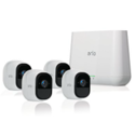 Arlo Pro by NETGEAR Security System with Siren – 4 Rechargeable Wire-Free HD Cameras with Audio | Indoor/Outdoor | Night Vision (VMS4400) $399.99
