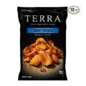 TERRA Sweet Potato Chips with Sea Salt, 6 oz. (Pack of 12) $26.78,free shipping