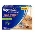 Reynolds Kitchens Sandwich and Snack Wax Paper Bags (50 Count)
