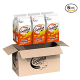 Pepperidge Farm, Goldfish, Crackers, Cheddar, 6.6 oz, Bag, 6-count $10.15