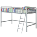 DHP Junior Loft Bed Frame With Ladder