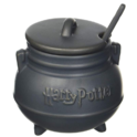 Harry Potter 48013 Cauldron Soup Mug with Spoon, Standard, Black $14.79