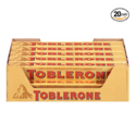 Toblerone Swiss Milk Chocolate with Honey & Almond Nougat, 3.52 Ounce Bars (Pack of 20) $26.97,free shipping