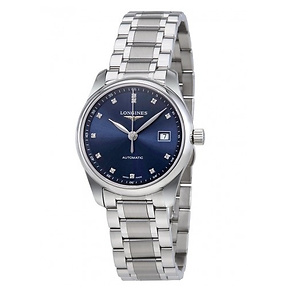LONGINES Master Collection Automatic Blue Dial Ladies Watch Item No. L2.257.4.97.6, only $1,625.00 after using coupon code, free shipping