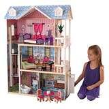 KidKraft My Dreamy Dollhouse with Furniture
