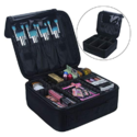 Travel Makeup Train Case Makeup Cosmetic Case Organizer Portable Artist Storage Bag 10.3'' $17.98