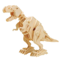 ROBOTIME Walking Trex Dinosaur 3D Wooden Craft Kit Puzzle for Kids,Sound Control Robot T-Rex Model Kits for 7 8 9 10 11 12 Year Old Boys $15.59