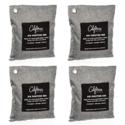 金盒特价!California Home Goods 活性竹炭自然干燥清新除臭剂 4个装