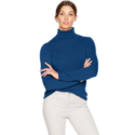 Lark & Ro Women's Turtleneck Pullover Cashmere Sweater $28.00