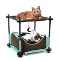 Kitty City Steel Claw Sleeper Cat Bed Furniture $21.99