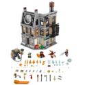 史低价!LEGO 76108 乐高复仇者联盟3 奇异博士至尊会所大战 自动折扣后 $59.97 免运费