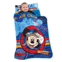 Disney Mickey's Toddler Rolled Nap Mat, Flight Academy $13.79
