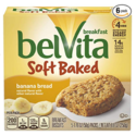 belVita Soft Baked Breakfast Biscuits, Banana Bread Flavor, 30 Packs (1 Biscuit Per Pack) $15.70