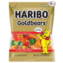 Haribo Gummi 小熊果汁软糖 原装金熊 5盎司 12袋