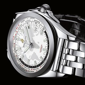 Breitling Men's Galactic Unitime Watch WB3510U0-A777-375A Extra 20% Off