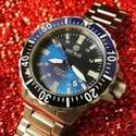 JomaShop: DEEP BLUE Daynight TritDiver Men's Automatic Watches