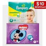 Target: Huggies or Pampers super-pack diapers