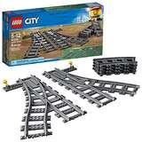 LEGO City Switch Tracks 60238 Building Kit (6 Piece)
