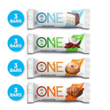 ONE Protein Bars, Best Sellers Variety Pack, Gluten Free with 20g Protein and only 1g Sugar, Includes Birthday Cake, Almond Bliss, 2.12 oz (12 Pack) $18.19
