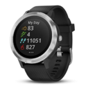 Garmin vívoactive 3, GPS Smartwatch with Contactless Payments and Builtin Sports Apps, Black/Silver $179.00, free shipping