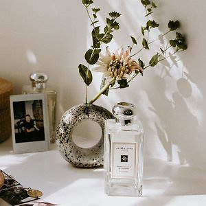 Jo Malone: Wild Bluebell Cologne 9ml + Peony & Blush Suede Body Creme 15ml With $65+ Purchase