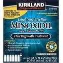Kirkland柯克兰5%Minoxidil 米诺地尔特强男士生发剂,6个月剂量