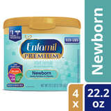 Walmart: Enfamil Newborn PREMIUM Infant Formula (4 Pack) Powder 22.2 Ounce Reusable Tub