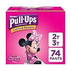 Pull-Ups 女童训练裤, 2T-3T, 74 片