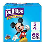 Pull-Ups 男童训练裤, 3T-4T (32-40 磅.), 66 片