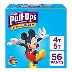Pull-Ups 男童训练裤, 4T-5T (38-50 磅.), 56 片
