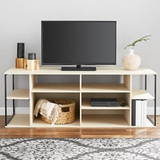 Walmart: Mainstays Kalla Wood and Metal Adjustable Shelf TV Stand for TVs up to 100 lbs