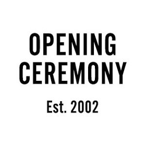 Opening Ceremony: Selected Items Sale