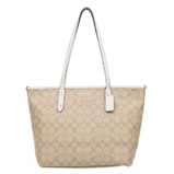 Coach Signature City Zip Tote Bag $126.28,free shipping