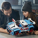 Amazon.co.uk: LEGO 42077 Technic Rally Car Toy, 2in1 Buggy Model, Racing Construction Set