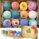 LifeAround2Angels Bath Bombs Gift Set 12 USA made Fizzies, Shea & Coco Butter Dry Skin Moisturize, Perfect for Bubble & Spa Bath. $26.80,free shipping
