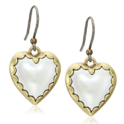 Lucky Brand Women's Heart Drops Earrings $7.46