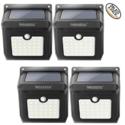 28-led无线太阳能运动传感器灯防水安全灯(4只装) 原价 $59.99 现价 $29.99,免运费